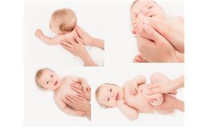 مراحل ماساژ کودک